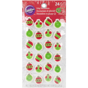 Ornaments - Dot Matrix Icing Decorations 24/Pkg