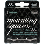 White - Couture Creations Mounting Squares 500/Pkg
