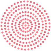 Maraschino - Couture Creations Self-Adhesive Gemstones 2mm 424/Pkg