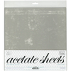 """.25mm - Couture Creations Acetate Sheets 12""""X12"""" 10/Pkg"""