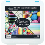 """Couture Creations Stackable Storage Box 12""""X13"""""""