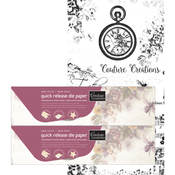 Twin Pack - Couture Creations Quick Release Die Paper 15cmx5m