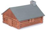 Log Cabin - Wood Model Kit