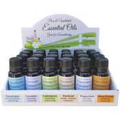 Holds 24 .5oz Bottles - Essential Oil 24pc Display Box