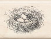"Nest - Inkadinkado Mounted Rubber Stamp 1.75""X2.25"""