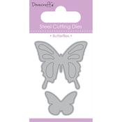 Butterflies, 2/Pkg - Dovecraft Value Die
