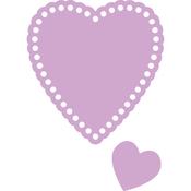 Hearts, 2/Pkg - Dovecraft Value Die