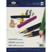 """Essentials Drawing Artist Paper Pad 9""""X12"""""""