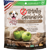 Chicken & Apple - Totally Grainless Meaty Chewy Bones For Small Dogs 6oz