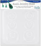 """Earrings - 3 Pairs - Resin Jewelry Mold 6.5""""X7"""""""