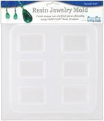 "Rectangles - 6 Cavity - Resin Jewelry Mold 6.5""X7"""