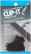 "Fits 1.5"" & 1.75"" Stretcher Bars - Clip-It Frame Clips 4/Pkg"