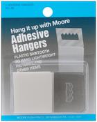 Plastic Sawtooth - Adhesive Hangers 4/Pkg