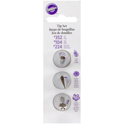 #104 Petal, #352 Leaf & #224 Flower - Decorating Tip Set