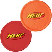 """Red & Orange - Nerf Nylon Flyer 10"""" 2/Pkg"""