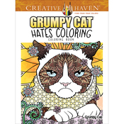 Creative Haven:Grumpy Cat Hates Coloring - Dover Publications