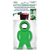Green - Little Green Man Multi Purpose Bottle & Jar Opener