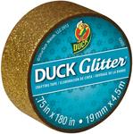 """Gold - Glitter Mini Duck Tape .75""""X15'"""