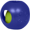Blue - Teaser Ball 4.5 inches Jolly Pets-Teaser Ball. This toy features a unique ball-within-a- ball design that will drive your dog bonkers! This package contains one 4-1/2 inch teaser ball toy. Comes in a variety of colors. Each sold separately. Made in USA.