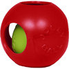 Red - Teaser Ball 6 inches Jolly Pets-Teaser Ball. This toy features a unique ball-within-a- ball design that will drive your dog bonkers! This package contains one 6 inch teaser ball toy. Comes in a variety of colors. Each sold separately. Made in USA.