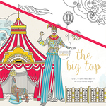 "The Big Top - KaiserColour Perfect Bound Coloring Book 9.75""X9.75"""