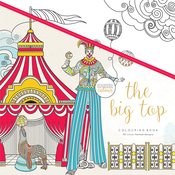 "The Big Top - KaiserColour Perfect Bound Coloring Book 9.75""X9.75"""