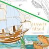 "Treasure Island - KaiserColour Perfect Bound Coloring Book 9.75""X9.75"""