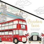 "London Love - KaiserColour Perfect Bound Coloring Book 9.75""X9.75"""