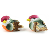 "Mini Birds - Mushroom Birds 1"" 2/Pkg"