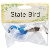 "Mountain Bluebird - Mushroom Bird 3"""