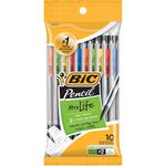 Clear Barrels - BIC Xtra Life Pencils 10/Pkg