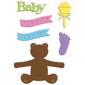 Welcome Baby - Little B Cutting Die