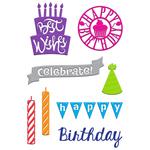 Birthday Wishes - Little B Cutting Die