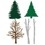 Trees - Little B Cutting Die