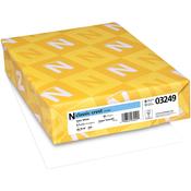 "Solar White (MSRP per sheet $.16) - Neenah 80lb Classic Crest Cardstock 8.5""X11"" 250/Pkg"