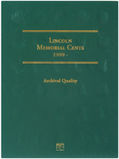1999-2008 - Lincoln Memorial Cent Folder