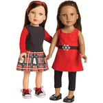 """Trendsetter  - 18"""" Doll Clothes To Cut & Sew"""