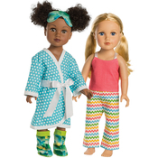 """Sleepover - 18"""" Doll Clothes To Cut & Sew"""