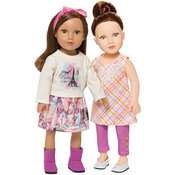 "Sugar & Spice - 18"" Doll Clothes To Cut & Sew"