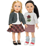 """Tailored Traditions - 18"""" Doll Clothes To Cut & Sew"""