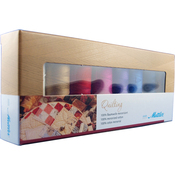 Cotton Machine Quilting Thread Gift Pack Article 9136 8/Pkg