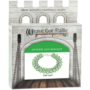 Irish Lace/Green - Chainmaile Bracelet Jewelry Kit