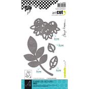 Leaves And Flowers, 4/Pkg - Carabelle Art Cut Die