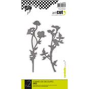 Spring, 2/Pkg - Carabelle Art Cut Die
