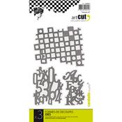 Textures #2, 3/Pkg - Carabelle Art Cut Die