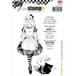 Alice In Wonderland - Carabelle Studio Cling Stamp A6