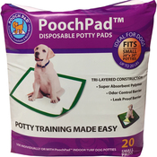PoochPad Disposable Potty Pad-Small 20/Pkg