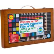 Wood Portable Art Set