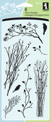 """Delicate Branches - Inkadinkado Clear Stamps 4""""X8"""""""