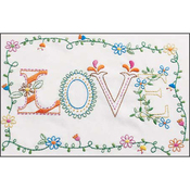 """8""""X10"""" - Love Embroidery Kit"""